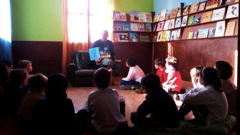 cuentacuentos de la granja escuela La Buhardilla