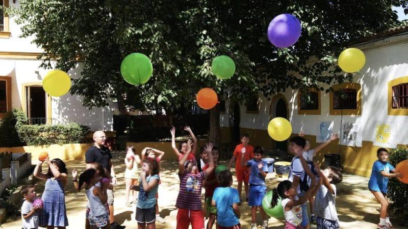 Celebrar tu cumpleaños en la Granja escuela