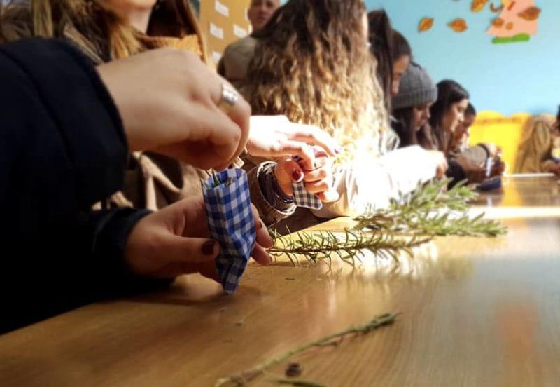Talleres, educación medioambiental de la granja escuela La Buhardilla