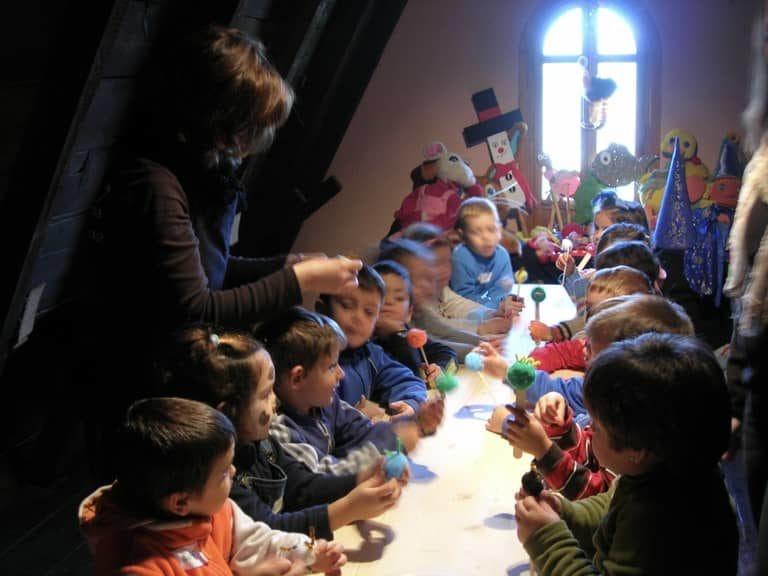 Actividades para niños de la granja escuela La Buhardilla