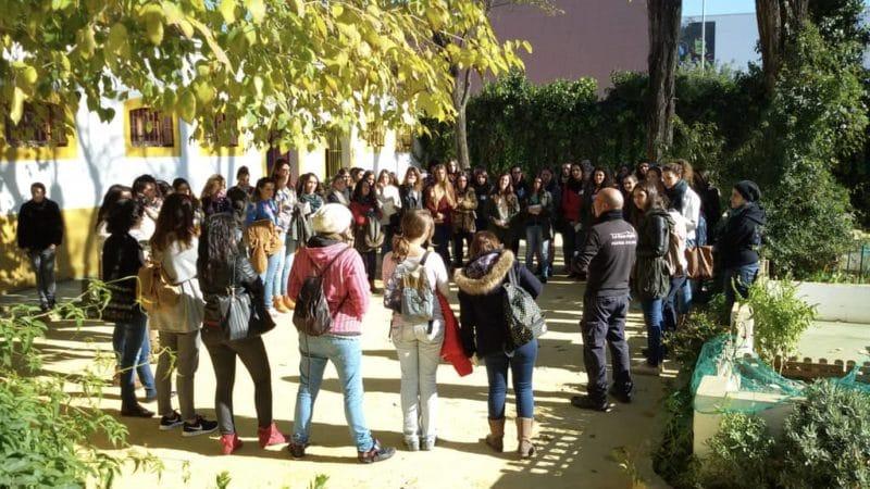 Talleres formativos para estudiantes en la granja escuela La Buhardilla