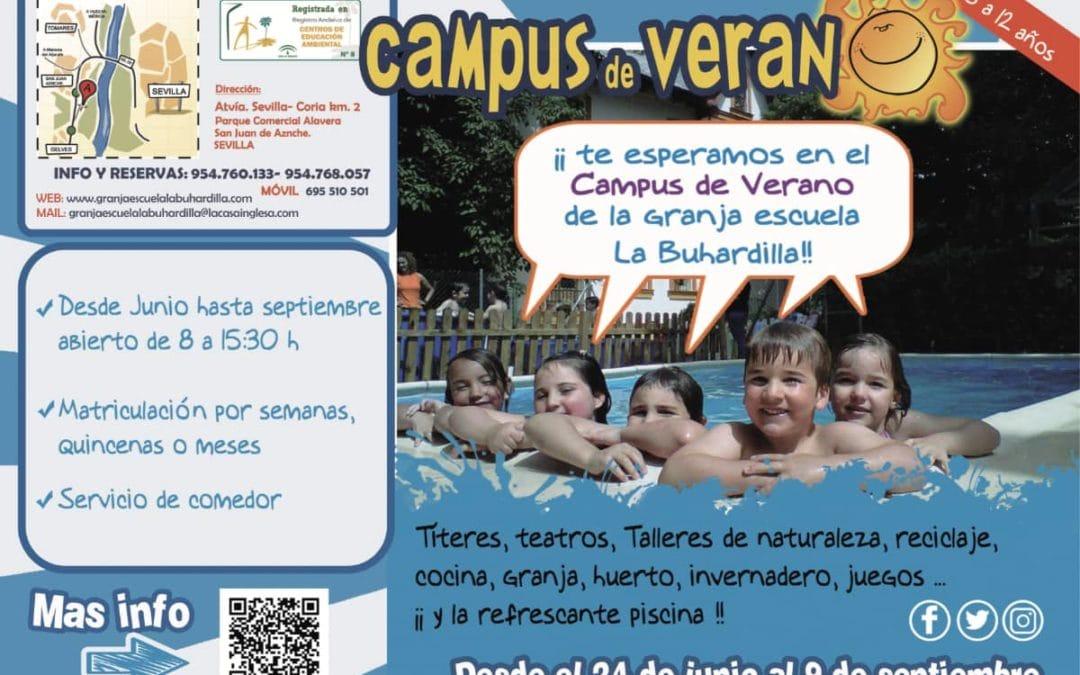 Campus de verano de la Granja escuela La Buhardilla